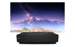 Laser TV H80LSA 80 Zoll 4K Ultra HD Ultrakurzdistanzprojektor mit Triple Tuner
