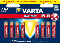 Batterie Longlife Max Power 8er Pack AAA