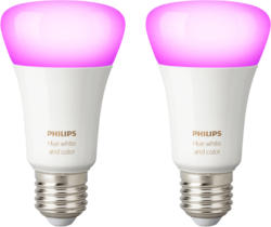Hue White & Color Ambiance E27 Doppelpack Bluetooth