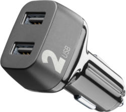 Autoladegerät CAR MULTIPOWER 2 mit 2 USB Ports, 24W