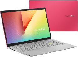 Notebook VivoBook 15 S533FL-BQ024T, I7-10510U, 8GB RAM, 512GB SSD, MX250, Resolute Red (90NB0LX2-M00380)