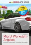Migrol Tankstelle Migrol Werkstatt-Angebot - au 18.04.2020