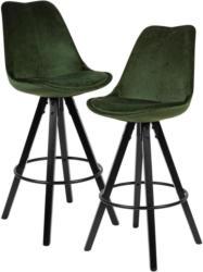 Barhocker-Set B: ca. 49 cm Grün