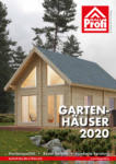HERRNEGGER Baustoffhandel GmbH HERRNEGGER - Gartenhäuserkatalog 2020 - bis 30.11.2020