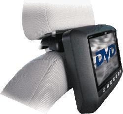 MHD109 DVD Player mit Kopfstützenhalterung und 300 Games auf CD