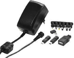 Netzteil PAH 30 für Elektrogeräte und USB, 2250mA, schwarz