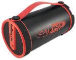 Saturn Bluetooth® Lautsprecher HPG410BT/R Tragbarer Röhren Lautsprecher, Radio, Micro SD, rot