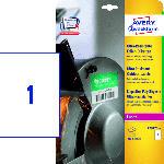 Saturn Ultra-Resistente Folien-Etiketten, 210 x 297 mm,10 Bogen/10 Etiketten, weiß(L7917-10)