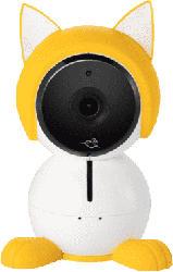Katzenfigur Dekohülle ABA1000 passend für Babyphone Arlo Baby