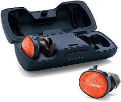 SoundSport Free wireless in ear headphones, orange