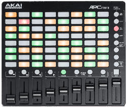 Kompakter All-In-One Ableton Live Controller APC mini