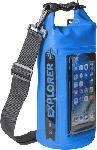 Saturn Tasche Explorer 2L mit Smartphone Fach, spritzwasserfest, blau (EXPLORER2LBL)