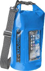 Tasche Explorer 5L mit Smartphone Fach, spritzwasserfest, blau (EXPLORER5LBL)