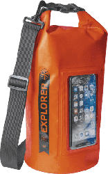 Tasche Explorer 5L mit Smartphone Fach, spritzwasserfest, orange (EXPLORER5LOR)
