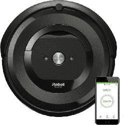 Saugroboter Roomba E5158, Schwarz (App-Steuerbar)