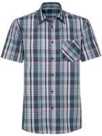 Herren-Hemd mit trendigem Karomuster