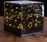 NKD LED-Glaswürfel mit 15 LEDs, ca. 12x12x12cm - bis 04.04.2020