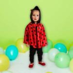 NKD Baby-Marienkäfer-Kostüm mit Umhang und Kapuze - bis 04.04.2020