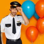 NKD Pilot-Kostüm mit Mütze für Erwachsene - bis 11.04.2020