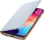 Saturn Wallet Cover für Galaxy A50, weiß (EF-WA505PWEGWW)