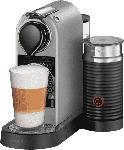Saturn Nespresso Kaffeemaschine CitiZ & Milk XN 761B Silber