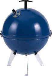 Mini Kugelgrill Crystal 29cm Blau 1148