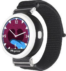 Kinder Smartwatch Puma Nylon-Schwarz