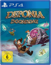 Deponia, Doomsday, 1 PS4-Blu-ray Disc