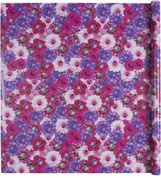 Geschenkpapier - Blumen, violett, 70g