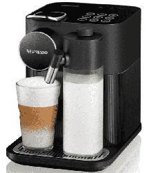 Nespresso Kaffeemaschine Gran Lattissima Schwarz EN650.B