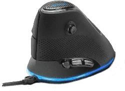 Gaming Maus Sovos Vertical RGB, USB, schwarz (SL-680018-BK)