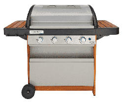 4 Series Dual Heat Woody LX Gasgrill