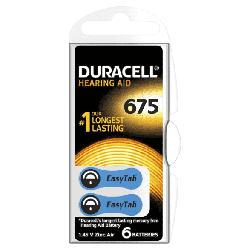 Hörgerätebatterie Easytab 675 (PR44) 6er Pack