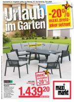 Maximarkt Flugblatt - Urlaub im Garten
