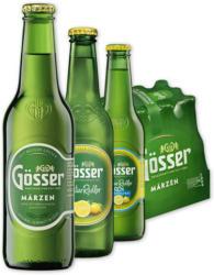 Gösser Märzen, Naturradler od. Naturradler 0,0 alkoholfrei*