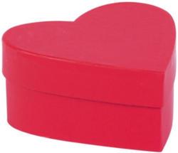 Geschenkbox - Herz, rot, S