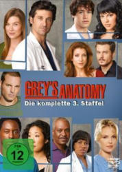 Grey´s Anatomy -Die komplette 3. Staffel
