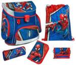 LIBRO Scooli Campus Fit Schultaschen-Set - Spider-Man, 5-teilig