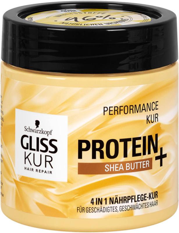 Gliss Kur 4in1 Nährpflege Performance Kur Protein + Shea Butter
