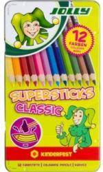 JOLLY Buntstifte Supersticks Classic 12 Stück mehrere Farben