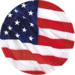 Pagro Teller USA 8 Stück Ø 17,7 cm