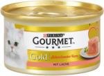 dm Purina Gourmet Gold Katzenfutter schmelzender Kern mit Lachs