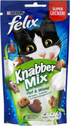 felix Knabber Mix Katzensnack Hof & Wiese