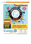E. Leclerc Anniversaire OSNY - au 22.03.2020
