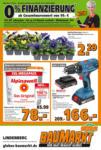 Globus Baumarkt Wochen Angebote - bis 14.03.2020