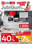 XXXLutz 75 Jahre Jubiläum - Küchen - bis 30.03.2020