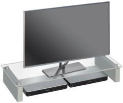 TV-Aufsatz Platingrau ca. 82 x 12,5 x 35 cm
