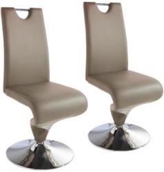 Stuhl-Set Tracy 2-Er Set Beige