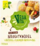 BILLA Vegavita Nougatknödel mit Brösel-Zucker-Mischung