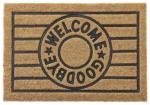 mömax Fußmatte Welcome & Goodbye ca. 40x60cm